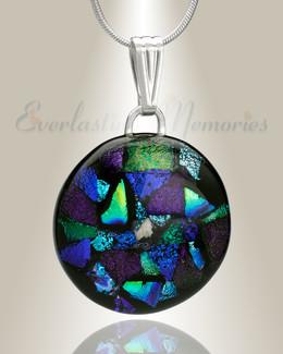 Creative Round Memorial Jewelry