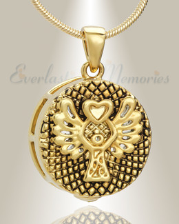 Gold Plated Glorify Memorial Jewelry