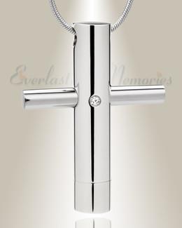 Worthy Cross Keepsake Urn Jewelry