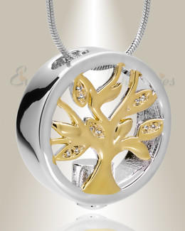 Sterling Silver Ancestry Memorial Jewelry