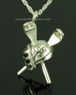 Sterling Silver Lacrosse Memorial Jewelry