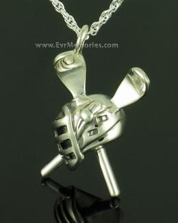Sterling Silver Lacrosse Memorial Jewelry