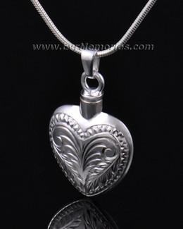 Sterling Silver Darling Heart Urn Necklace