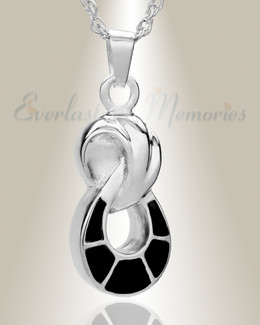 Silver Everlasting Companion Infinity Funeral Jewelry