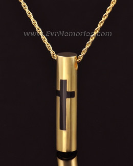 14K Gold Providence Cremation Keepsake