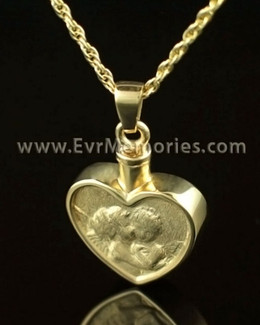 14K Gold True Love Urn Necklace