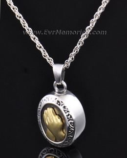 Sterling Silver Belief Memorial Locket