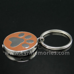 Stainless Steel Daily Walk Keychain Urn Keepsake