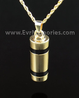 Gold Vermeil Imperial Cremation Keepsake