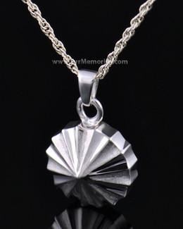 Sterling Silver Pinwheel Cremation Keepsake