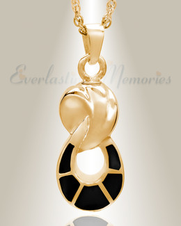 14K Plated Traditional Companion Infinity Keepsake