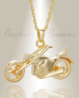 14K Plated Cruisin Funeral Jewelry