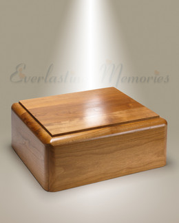 Simple Cherry Cremation Urn