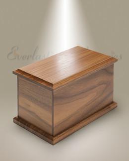 Large Walnut Cremation Urn