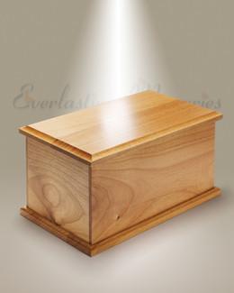 Extra Large Alder Cremation Urn
