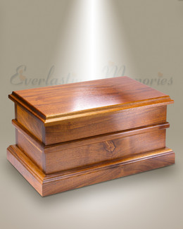 Beveled Edges Companion Cremation Urn