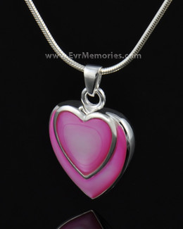 Sterling Silver Crimson Heart Ash Jewelry