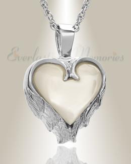 Sterling Silver Innocent Heart Memorial Locket