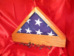 Patriot Flag Case and Urn   Click Here To Purchase