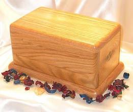 Simplicity Hardwood Urn