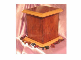 Tower Hardwood Urn