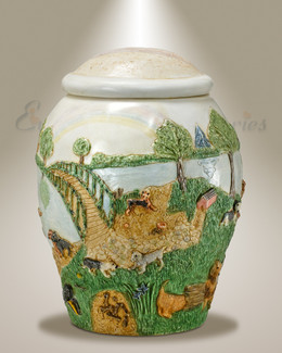 Across The Bridge Pet Cremation Urn-evr5233