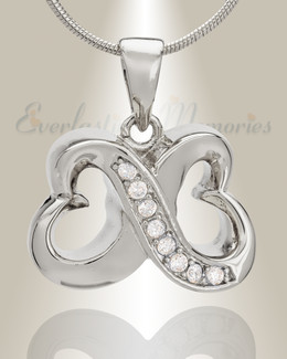 Endless Love Heart Memorial Jewelry-evr6183