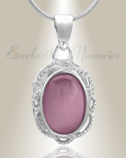 Silver Sunset Cremation Jewelry-evr6478ss
