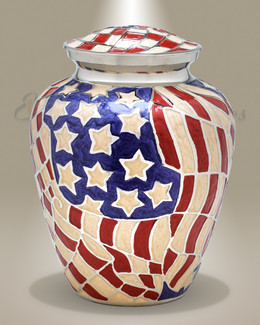 Americana Cremation Urn-evr9129