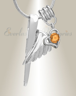 November Inspiration Memorial Jewelry