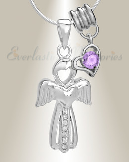 June Virtuous Angel Memorial Jewelry