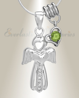 August Virtuous Angel Memorial Jewelry