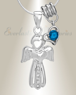 September Virtuous Angel Memorial Jewelry