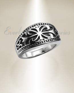 Silver Ladies Majesty Memorial Ring