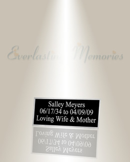 Medium Pictor Engraved Plate