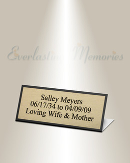 Fornax Easel Engraved Plate