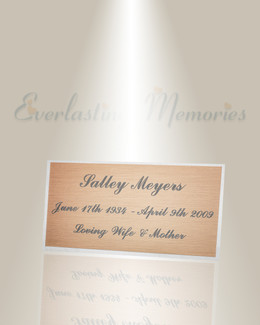 Large Pavo Engraved Plate