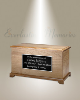 Natural Alder Kindred Cremation Urn