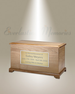 Natural Alder Destiny Cremation Urn