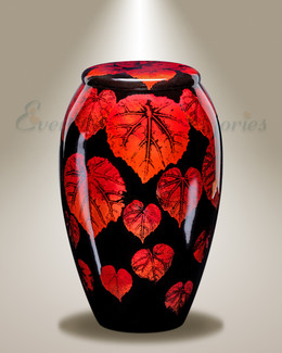Autumn Arrival Cremation Urn
