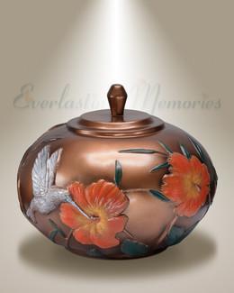 Springtime Cremation Urn