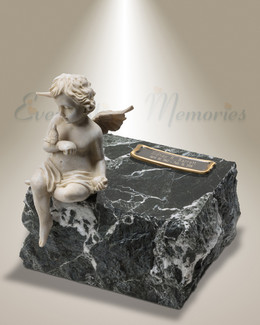 Black Angels Among Us Cremation Urn