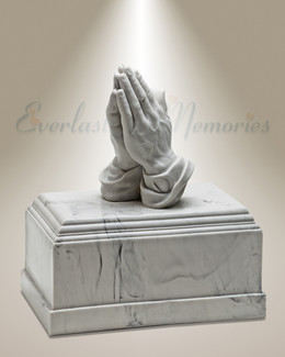 Praying Cremation Urn