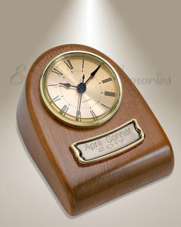 Harvest Clock Cremation Urn
