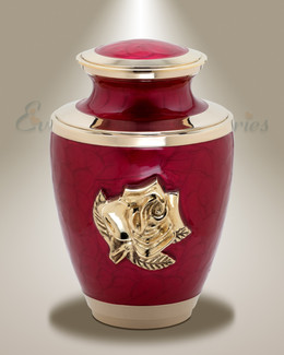 Red Eternities Cremation Urn