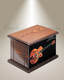 Strumming Cremation Urn