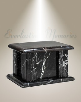 Nightfall Marble Cremation Urn