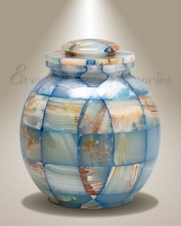 Summer Sky Stone Cremation Urn