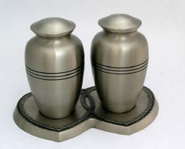 Pewter Companion Cremation Urn