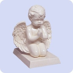 Praying Cherub Angel Cremation Urn